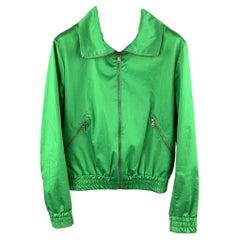 TOMAS MAIER Size XXS Green Cotton / Elastane Jacket
