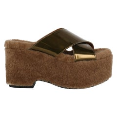 Tomas Maier Woman Wedges Bronze, Brown EU 36