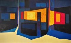 Bars De Nit, El Carajillo - 21st Century, Contemporary, Painting, Oil on Canvas