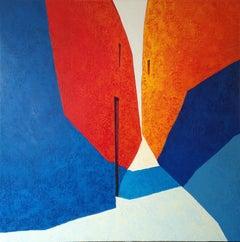 Coincidències - 21st Century, Contemporary, Painting, Oil on Canvas