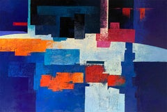 Confinat - 21st Century, Contemporary, Figurative Versus Abstract, Oil Painting