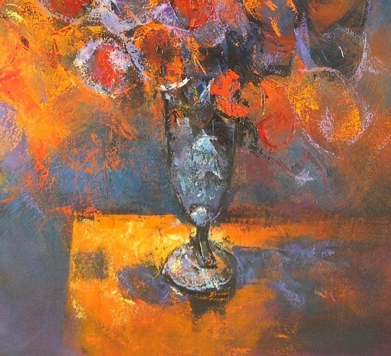 Flors al Cava - 21st Century, Contemporary, Still Life, Oil Painting, Flowers For Sale 1