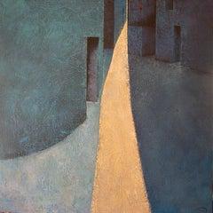 Riu de Lluna - 21st Century, Contemporary, Painting, Oil on Canvas