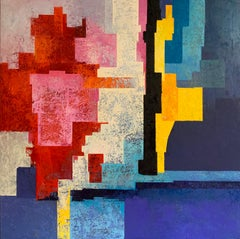 Terrats Pels Confinats - 21st Century, Contemporary, Oil Painting, Abstract