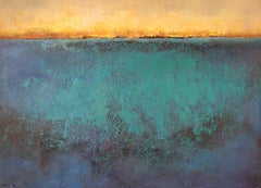 Travels nº 30 - 21st Century, Contemporary, Landscape Painting, Oil on Canvas