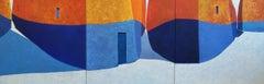 Un Fil D'Olor - Triptych, 21st Century, Contemporary, Painting, Oil on Canvas