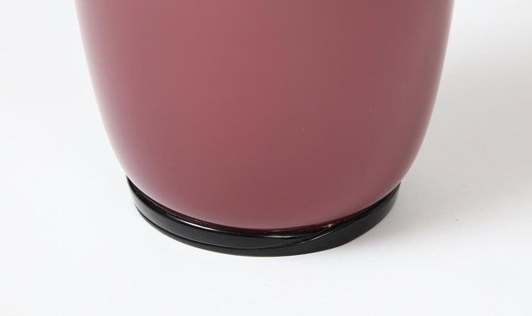 Mid-Century Modern Tomaso Buzzi for Venini Vase For Sale