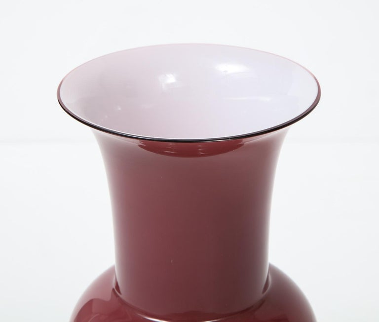 Italian Tomaso Buzzi for Venini Vase For Sale
