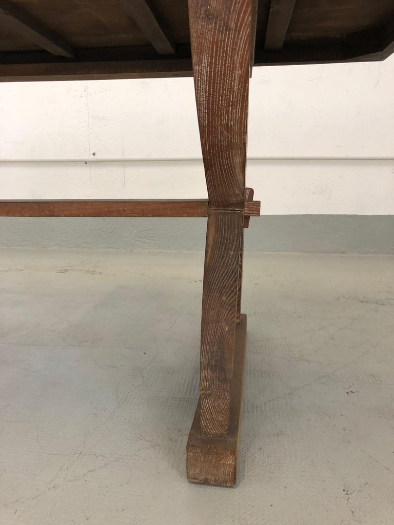 Mid-Century Modern Tomaso Buzzi Rare Rustic Table with Certified, 1928 For Sale