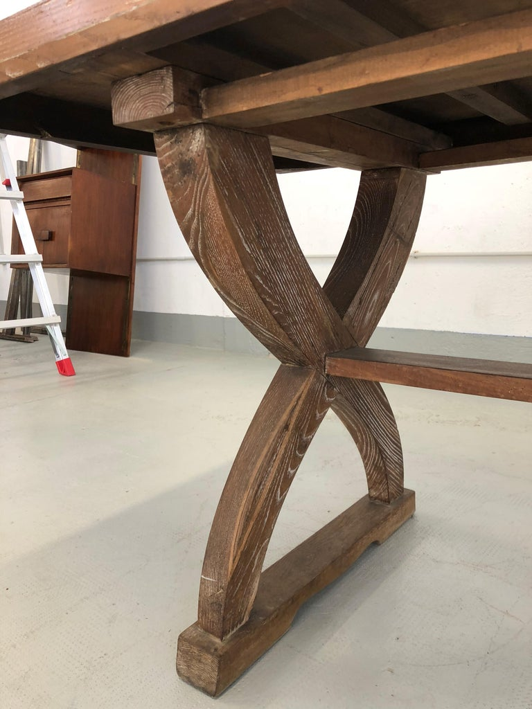 Italian Tomaso Buzzi Rare Rustic Table with Certified, 1928 For Sale