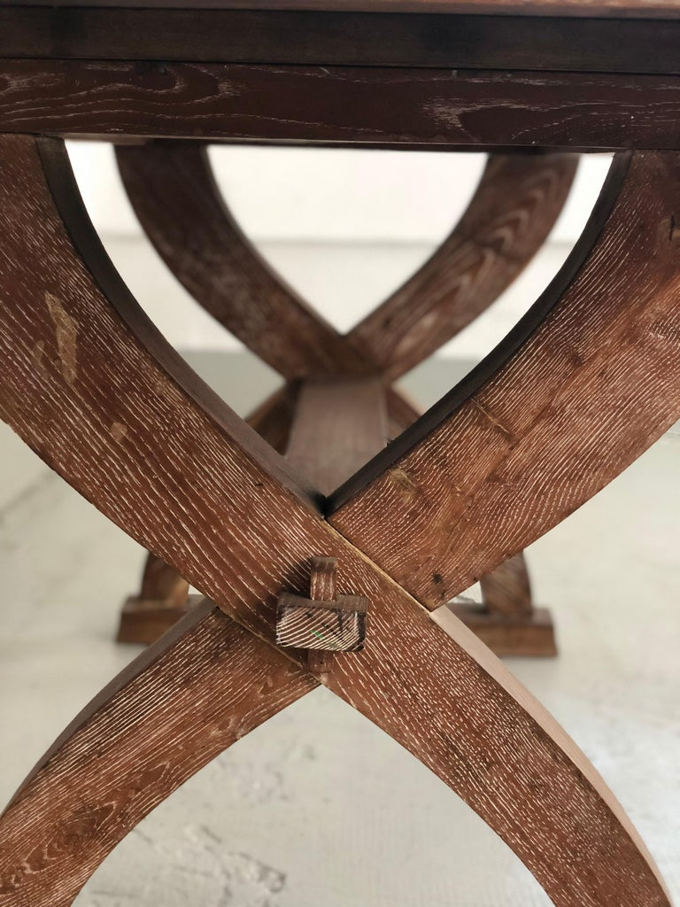 Tomaso Buzzi Rare Rustic Table with Certified, 1928 For Sale 2