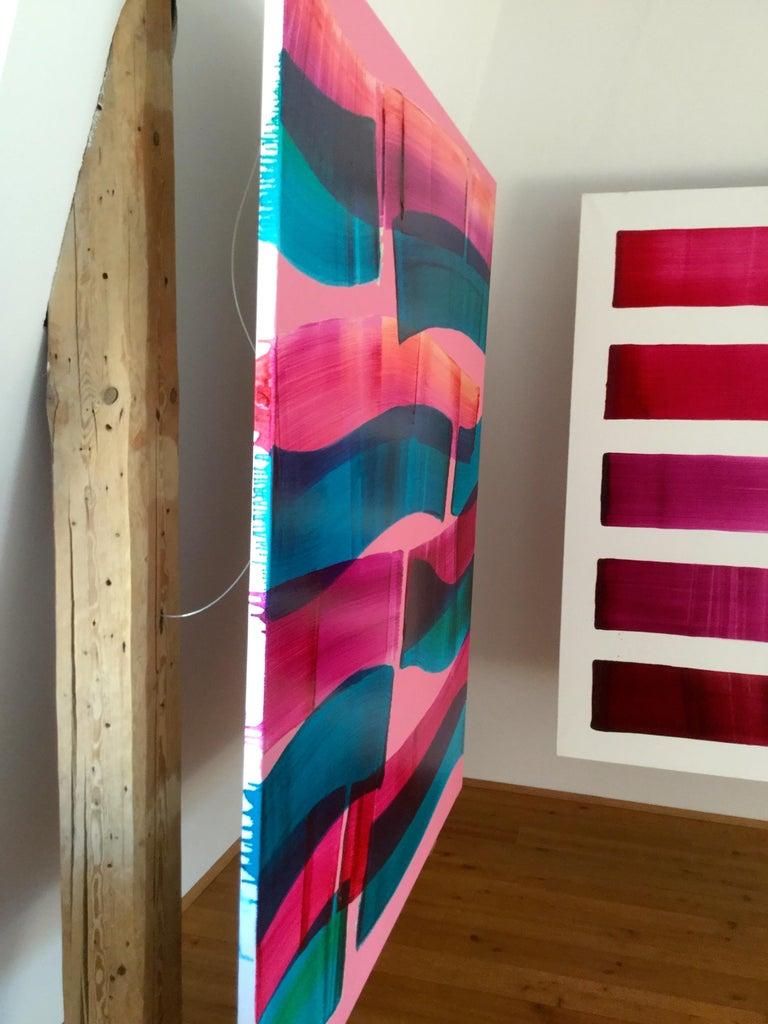 Dopaminum 4 -  Large Format Painting, Conceptual Oil Painting, Color Field   For Sale 1