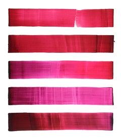 Dopaminum 6 -  Large Format, Minimalistic Conceptual Oil Painting, Color Field