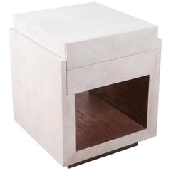 Shagreen Bedside Table by R&Y Augousti