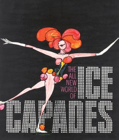 Tomi Ungerer Ice Capades poster 1969