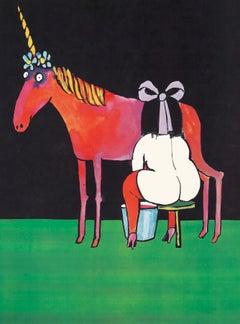 """Tomi Ungerer poster """"Stranger Than Fiction,"""" (Tomi Ungerer Truc 1968)"""
