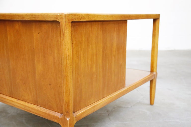 Tomlinson Sophisticate Cocktail Bar and Storage Coffee Table, 1950s, Signed For Sale 11