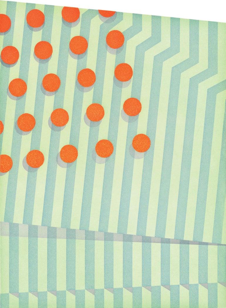 Tomma Abts Abstract Print - Untitled (small circles)