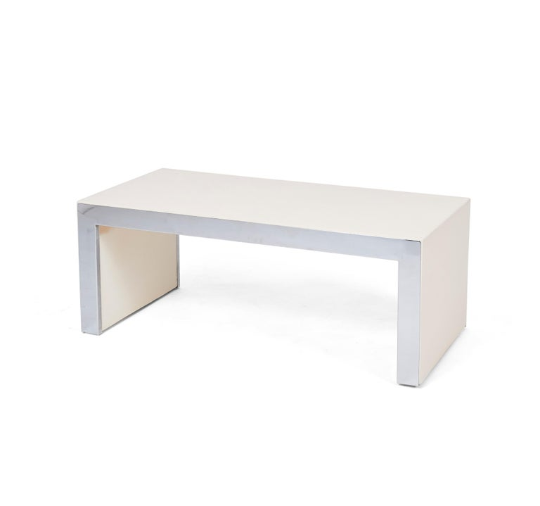 Italian Tommaso Barbi Coffee Table Bench For Sale