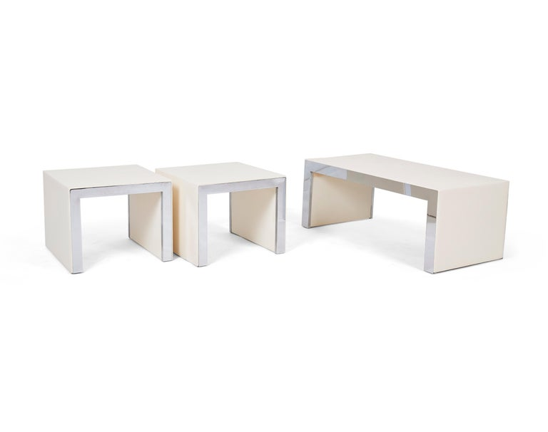 Tommaso Barbi Coffee Table Bench In Good Condition For Sale In Chicago, IL