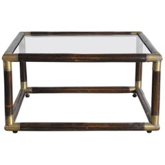 Tommaso Barbi Italian Midcentury Coffee Table