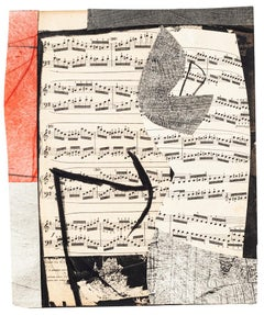 Musical Notes - Original Mixed Media by Tommaso Cascella - 2009