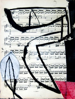 Untitled 4 - Original Mixed Media by T. Cascella - 2009