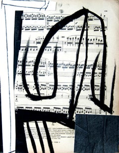 Untitled 5 - Original Mixed Media by T. Cascella - 2009