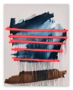 Delirio En Carretera (Abstract painting)