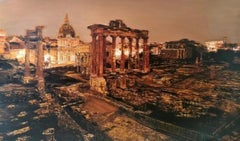 Rome by Tommaso Ottieri. Original oil painting.