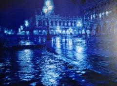 Venice Blue by Tommaso Ottieri. Original oil painting.