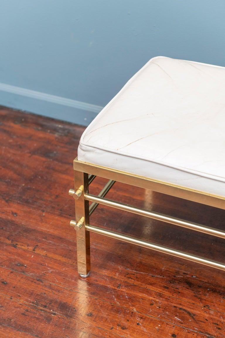 Mid-Century Modern Tommi Parzinger Bench for Parzinger Originals For Sale