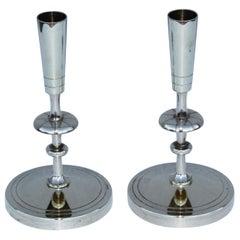 Tommi Parzinger Brass Candleholders