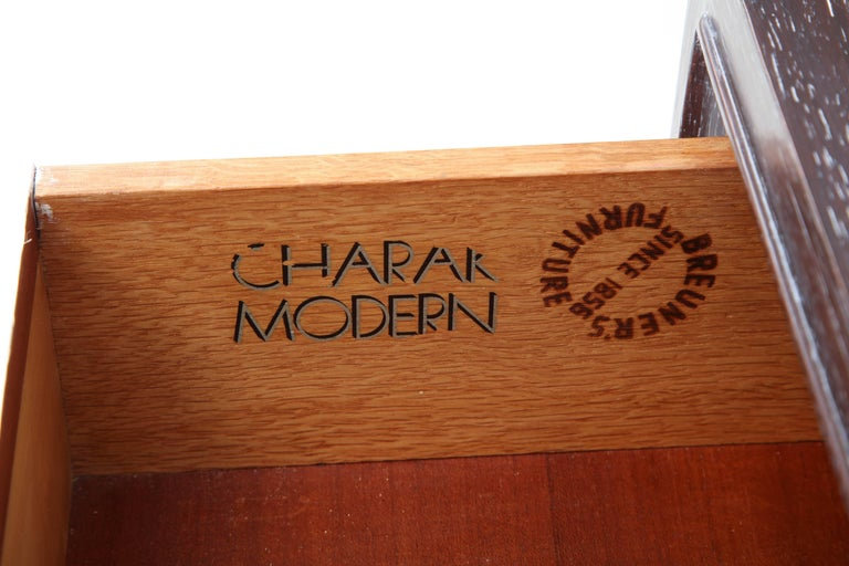 Tommi Parzinger Cerused Mahogany Chests For Sale 2
