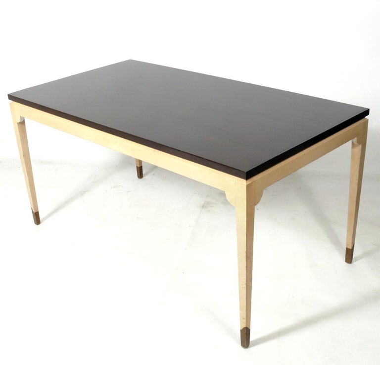 American Tommi Parzinger Custom Desk and Chair  For Sale