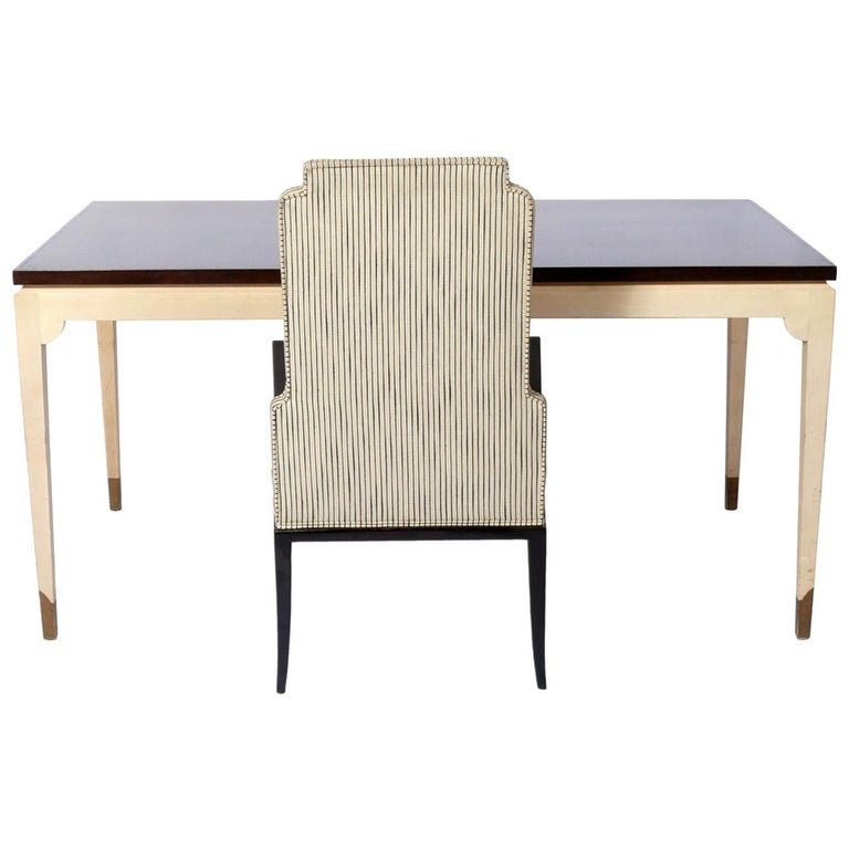 Tommi Parzinger Custom Desk and Chair  For Sale