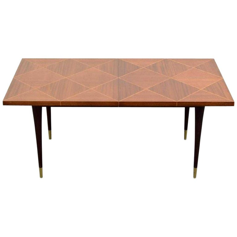 Tommi Parzinger Dining Table And 4 Chairs For Sale At 1stdibs