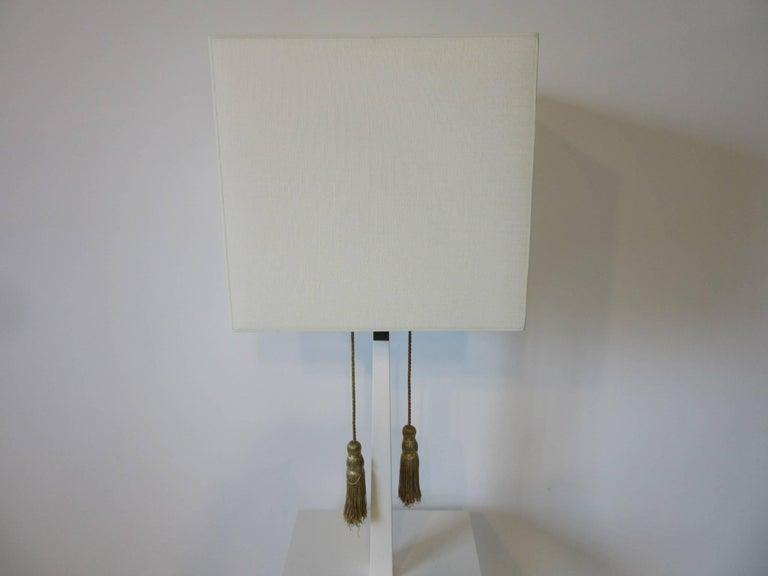 American Tommi Parzinger Floor Lamp in the Regency Style For Sale