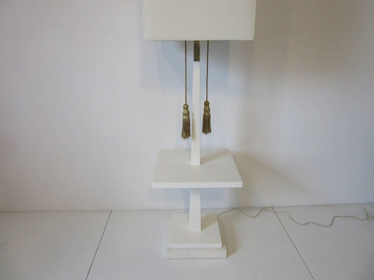 Tommi Parzinger Floor Lamp in the Regency Style In Excellent Condition For Sale In Cincinnati, OH