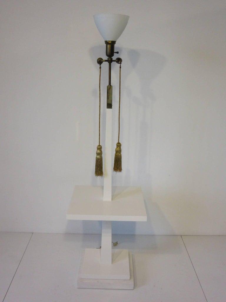 Tommi Parzinger Floor Lamp in the Regency Style For Sale 3