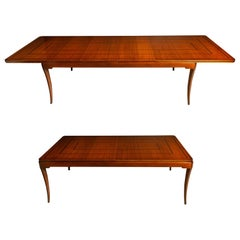 Tommi Parzinger for Parzinger Originals Mahogany Dining Table, c. 1960, Signed