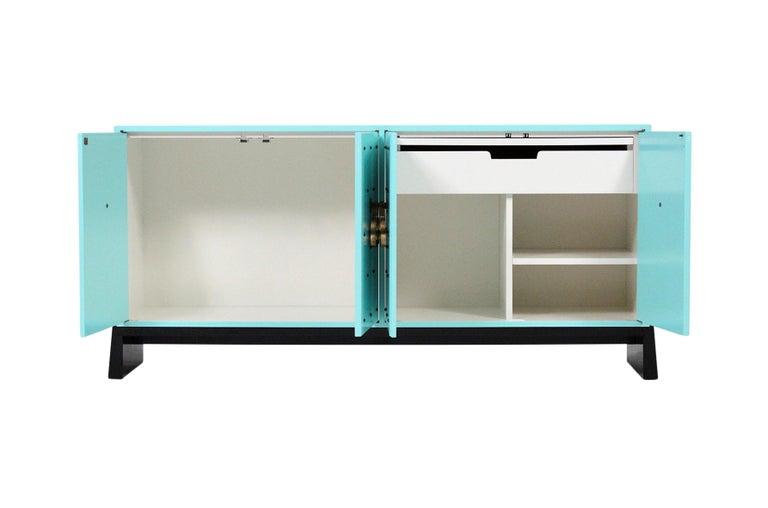 Tommi Parzinger for Parzinger Originals Studded Cabinet For Sale 4