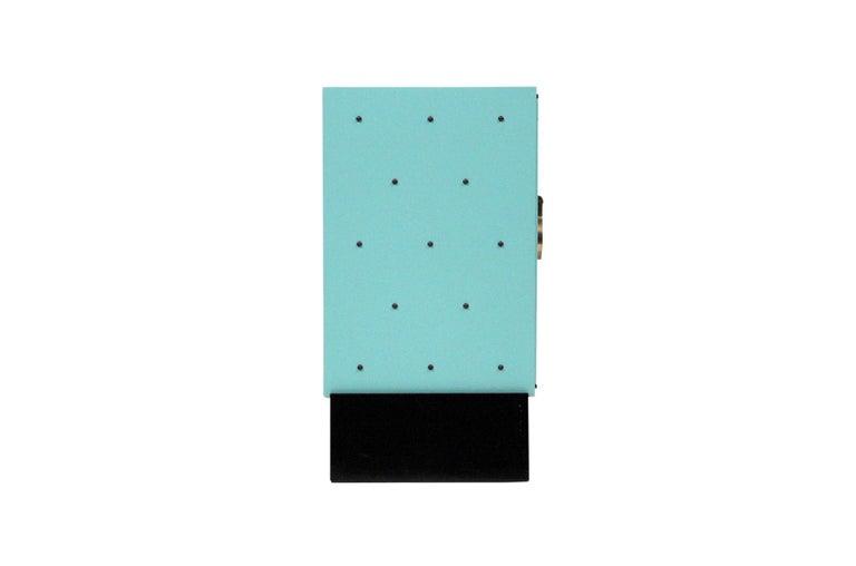 Mid-Century Modern Tommi Parzinger for Parzinger Originals Studded Cabinet For Sale