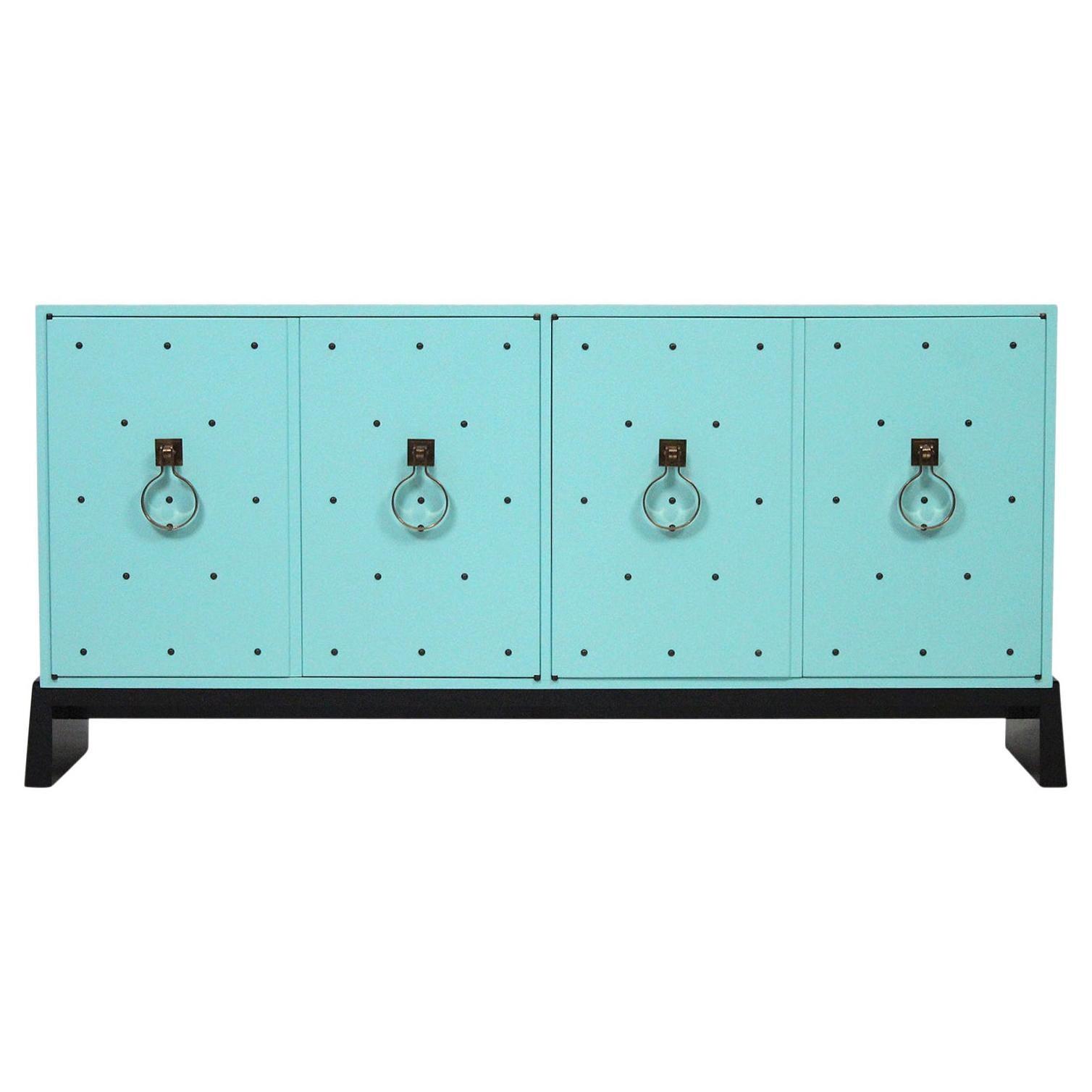Tommi Parzinger for Parzinger Originals Studded Cabinet
