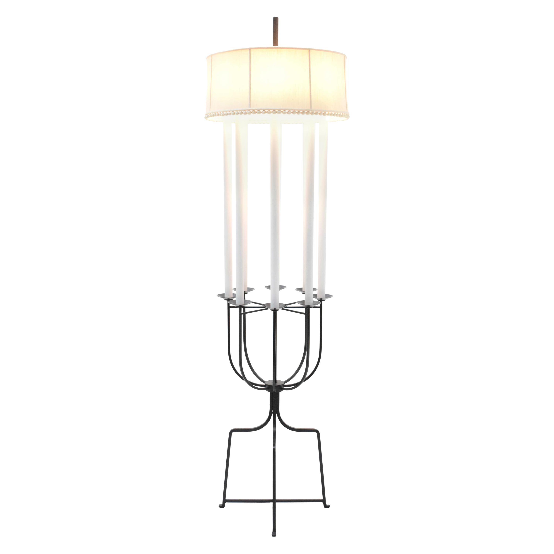 Tommi Parzinger Iron Floor Lamp