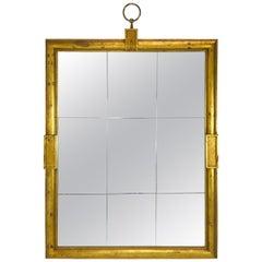 Tommi Parzinger Large Gold Mirror