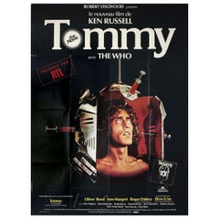 """""""Tommy"""" 1975 French Grande Film Poster"""