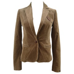 Tommy Hilfiger beige suede jacket