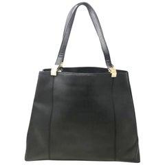 Tommy Hilfiger Black Large Shoulder Women's Bag