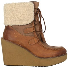 Tommy Hilfiger Woman Ankle boots Camel Color Synthetic Fibers IT 37